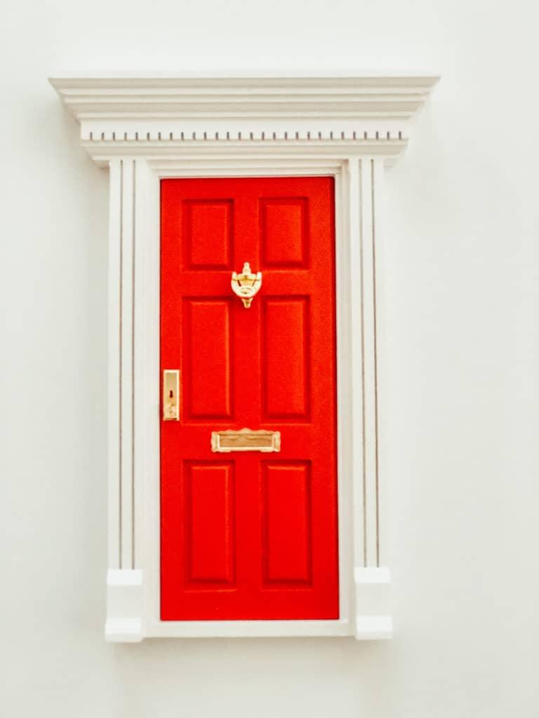 The Magic Elf Door