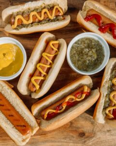 School's out, serve up some grilled hot dogs!