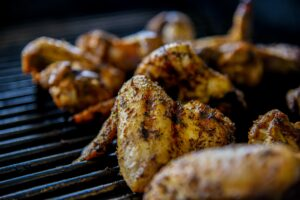 Off the grill wings for the win!